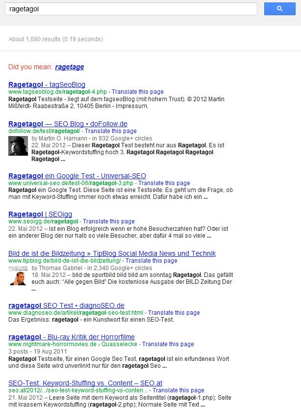 rageatol bei google