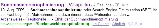 Nach Suchmaschinenoptimierung gesucht